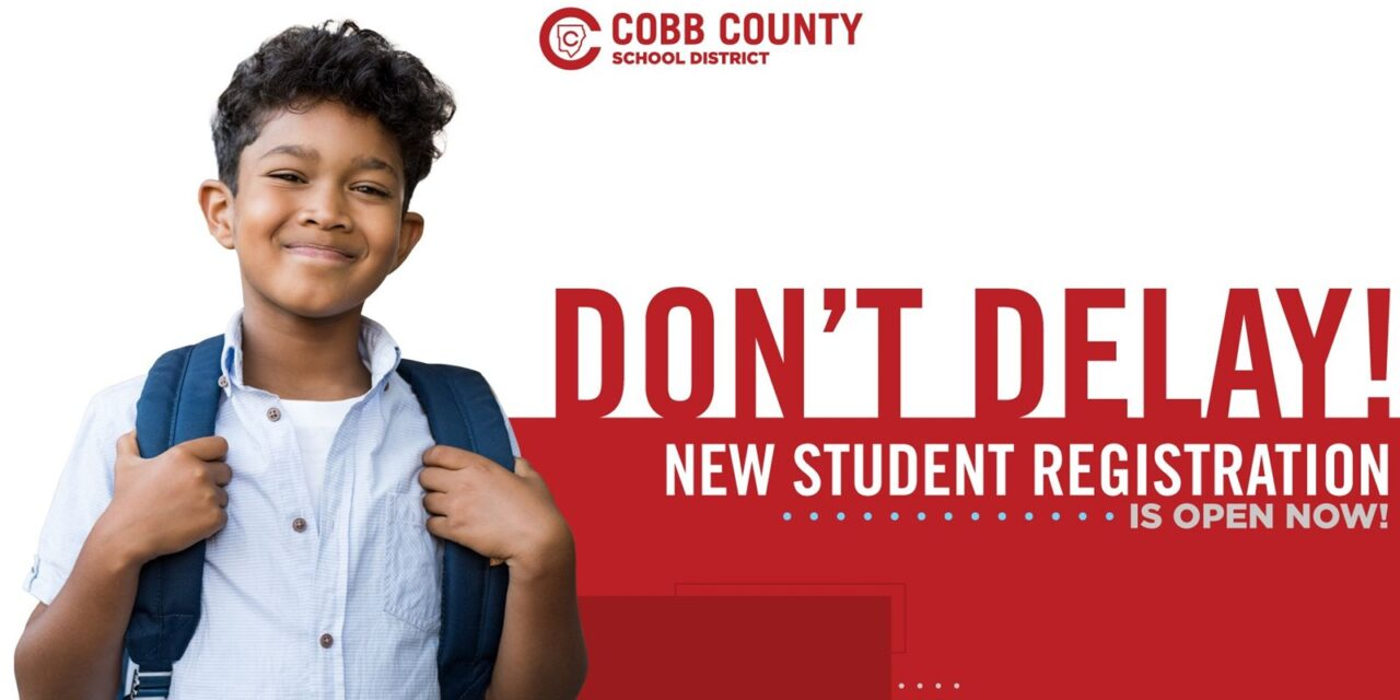 ATTENTION COBB FAMILIES: ONLINE REGISTRATION IS NOW AVAILABLE