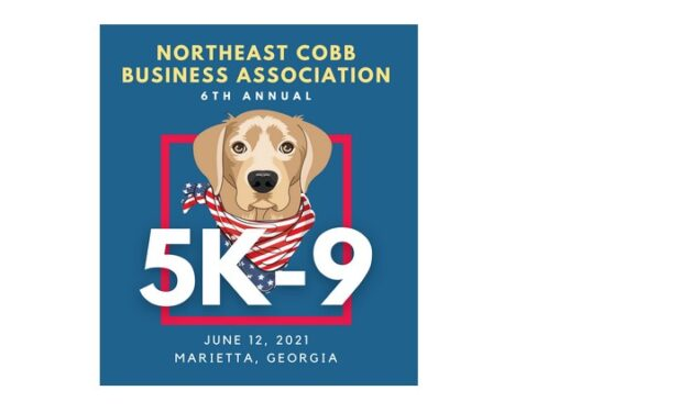 NORTHEAST COBB BUSINESS ASSOCIATION PRESENTS THE 6TH ANNUAL 5K-9 ROAD RACE THIS SATURDAY