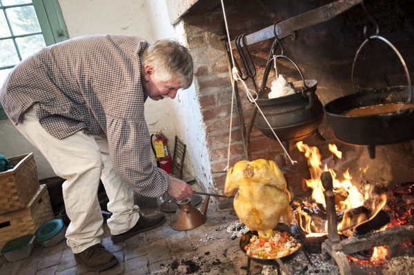 OPEN-HEARTH COOKING AND LIVING HISTORY AT SMITH PLANTATION