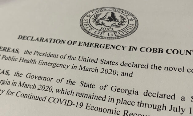 Cobb County Commission Chair Signs Declaration of Emergency Over COVID Surge