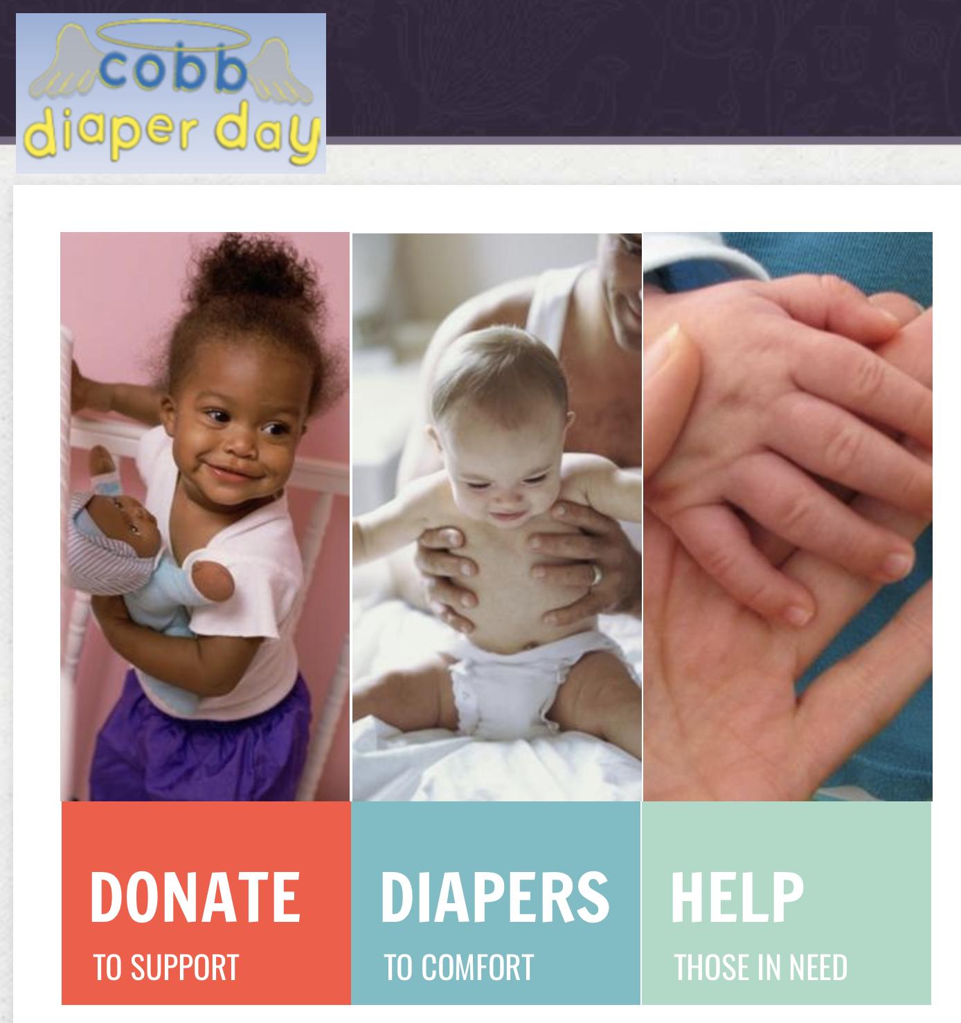 13th annual 2021 Cobb Diaper Day [VIRTUAL]