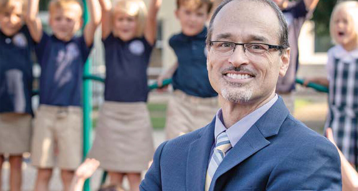 Look Who's On Our Front Cover: Dr. Jim Cianca, New Head of Mt. Bethel Christian Academy