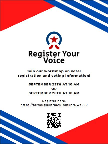Register Your Voice: A Voting Workshop