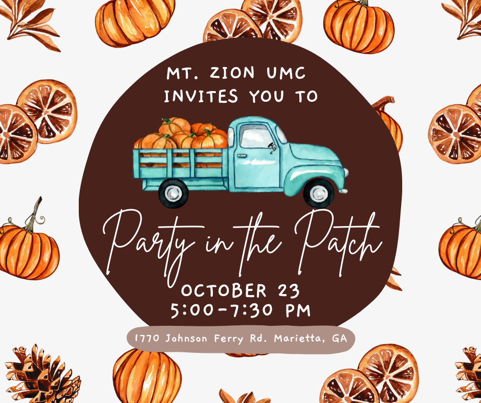 Mt. Zion UMC Party in the Patch